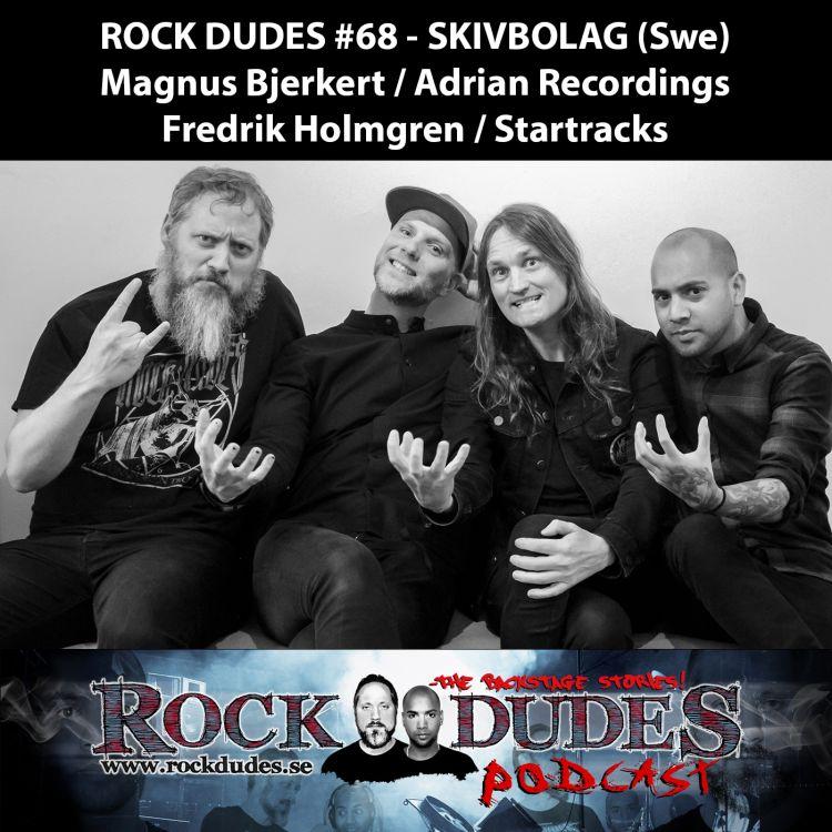 cover art for Rock Dudes #68 – SKIVBOLAG (Gäst: Magnus Bjerkert, Fredrik Holmgren) – (Swe)