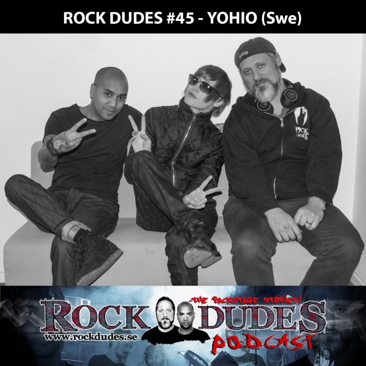 cover art for Rock Dudes #45 – YOHIO – (Swe)