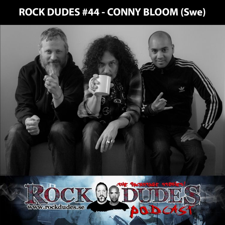 cover art for Rock Dudes #44 – Electric Boys (Gäst: Conny Bloom) – (Swe)