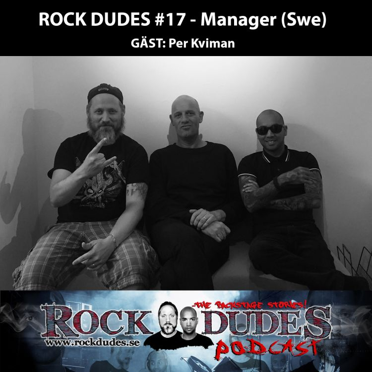 cover art for Rock Dudes #17 – Manager (Gäst: Per Kviman) – (Swe)