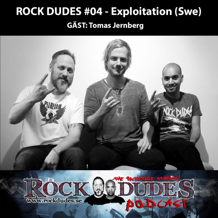 cover art for Rock Dudes #04 – Exploitation (Gäst: Tomas Jernberg) – (Swe)