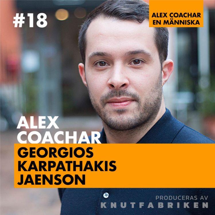 cover art for #18: Jag vill känna att jag lever – Georgios Karpathakis Jaenson