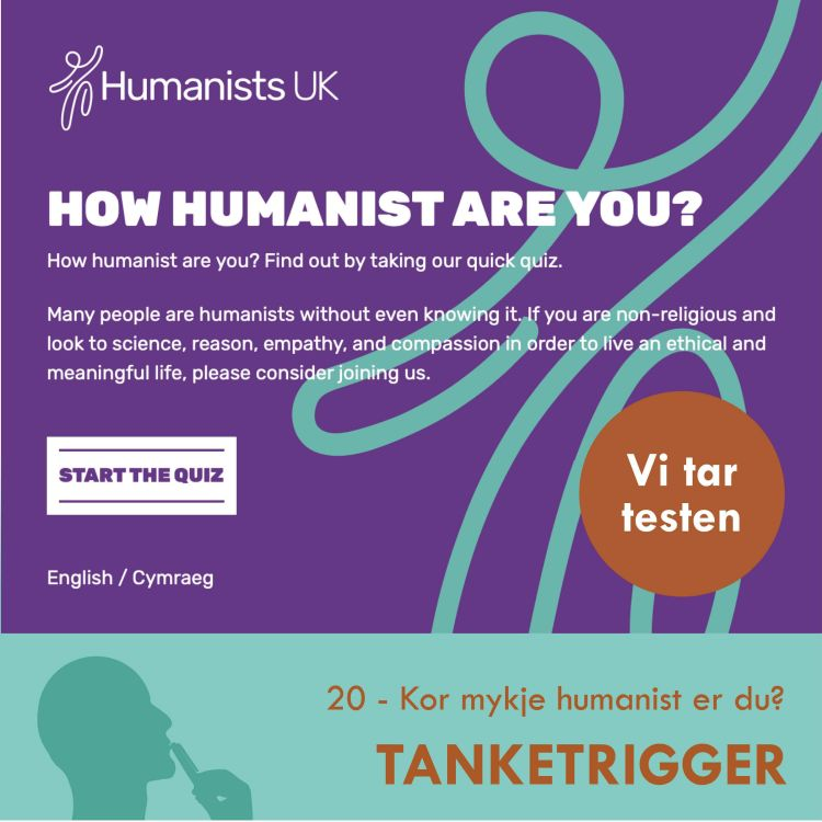 cover art for Kor mykje humanist er du?