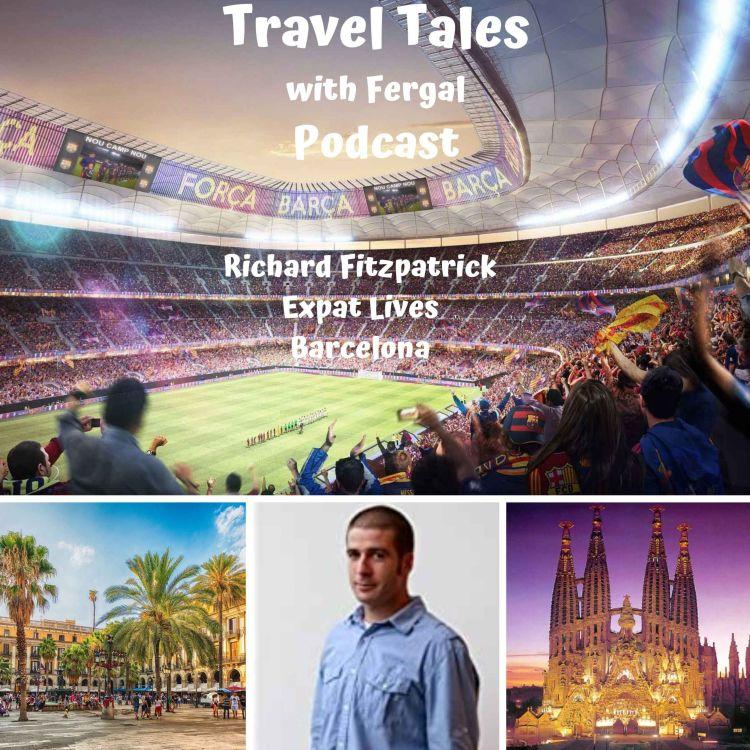 cover art for Expat Lives Richard Fitzpatrick Barcelona