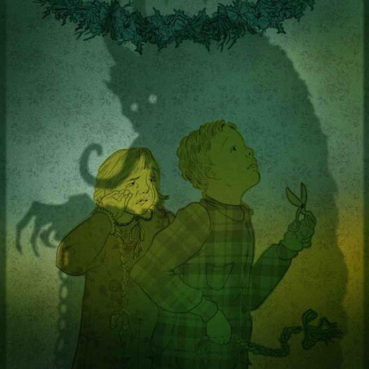 cover art for The Devil of Christmas
