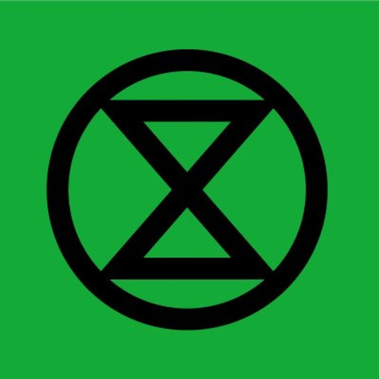 cover art for Planet Pod on the edge with Extinction Rebellion's Dr Gail Bradbrook and Roger Hallam