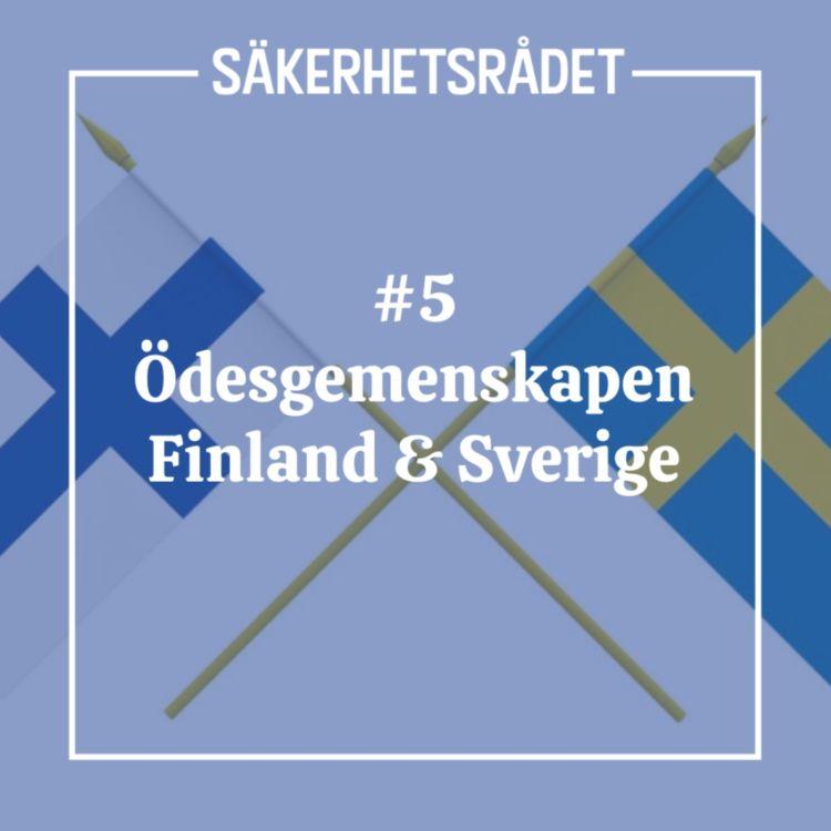 cover art for Ödesgemenskapen Finland & Sverige