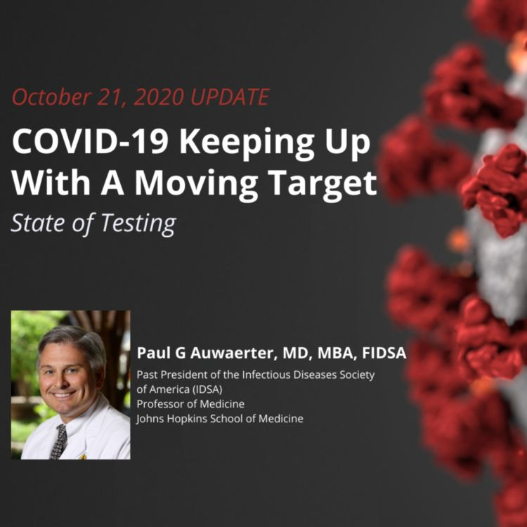 cover art for UPDATE 10/21/2020 – COVID-19: State of Testing