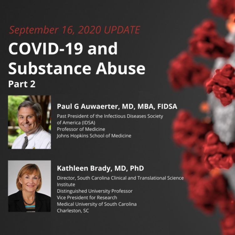 cover art for UPDATE 9/16/2020 – COVID-19 and Substance Abuse Part 2