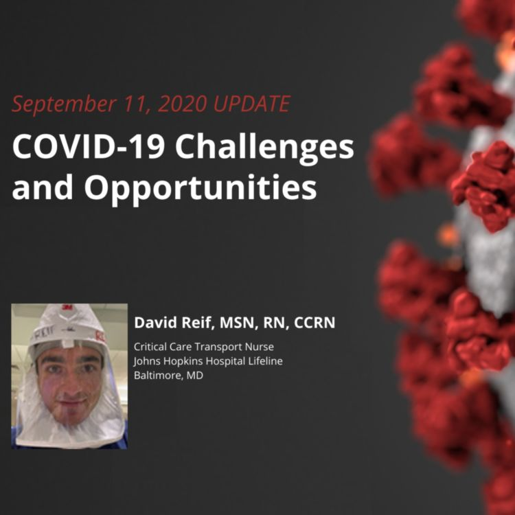 cover art for UPDATE 9/11/2020 – COVID-19 Challenges and Opportunities