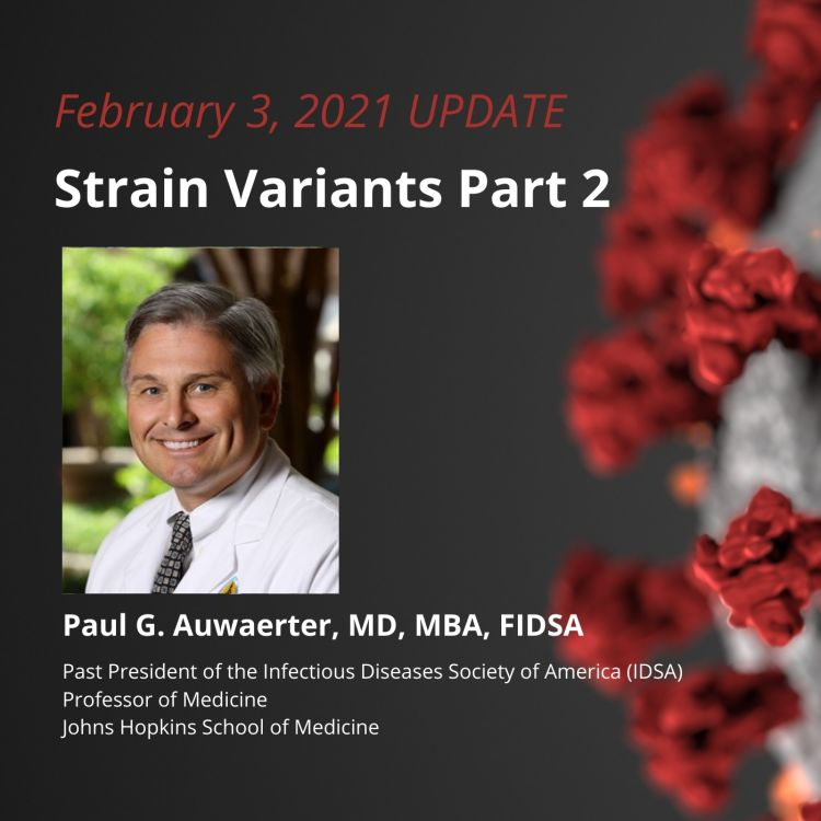 cover art for UPDATE 2/3/21 - Strain Variants Part 2