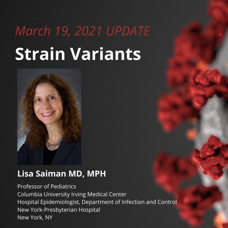 cover art for UPDATE 3/19/2021 - Strain Variants