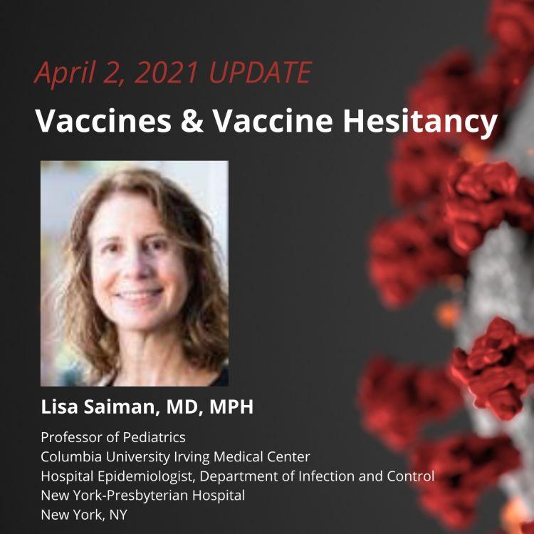 cover art for UPDATE 4/2/2021 - Vaccines & Vaccine Hesitancy Part 2
