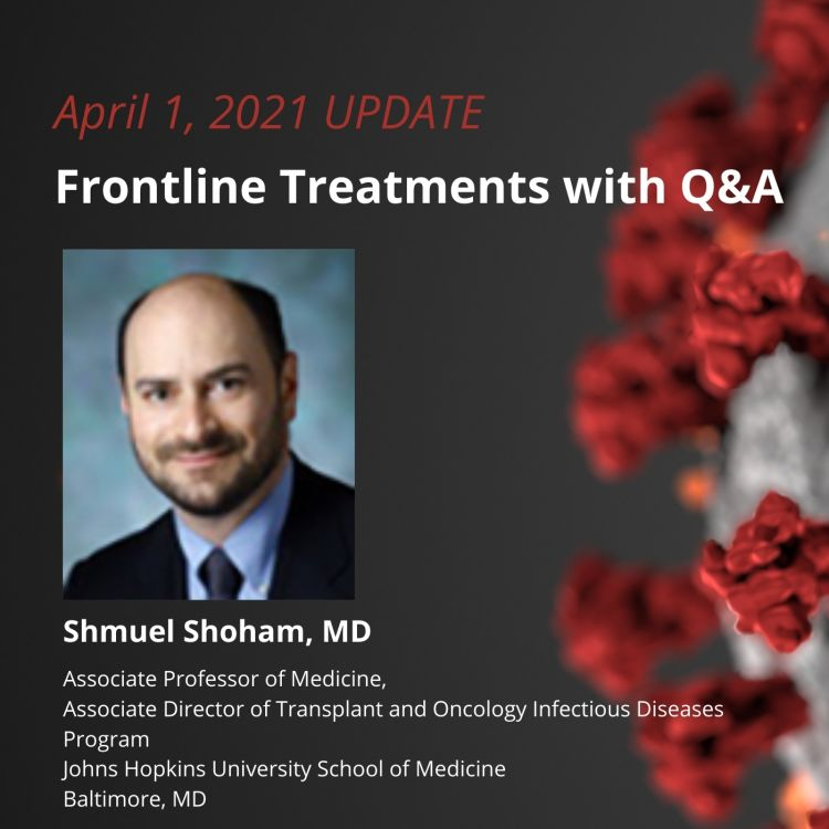 cover art for UPDATE 4/1/2021 - Frontline Treatments with Q&A