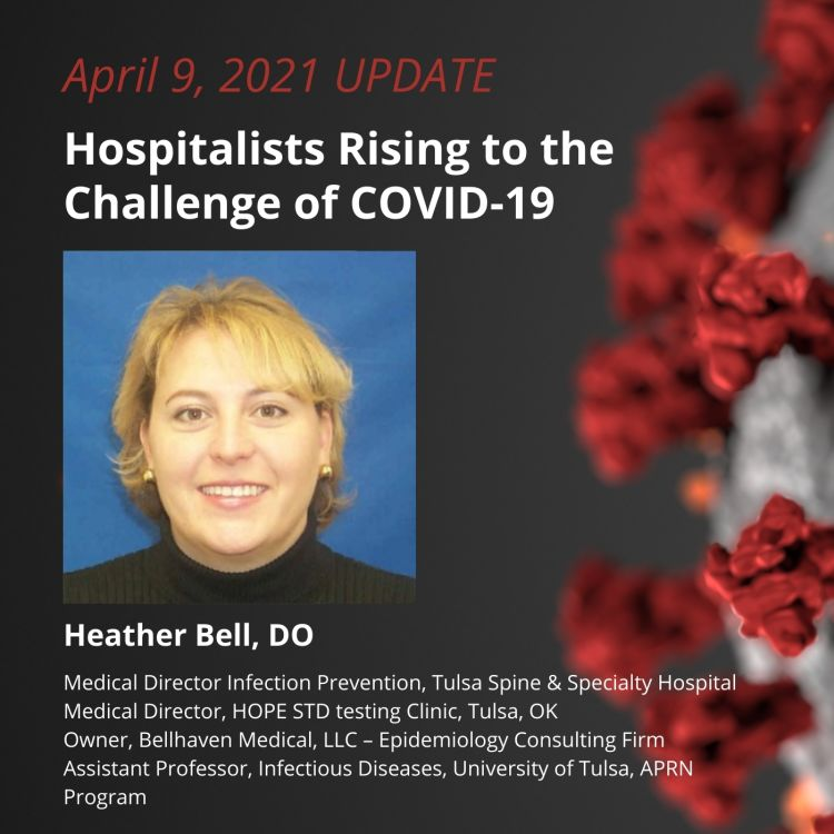 cover art for UPDATE 4/9/2021 - Hospitalists Rising to the Challenge of COVID-19