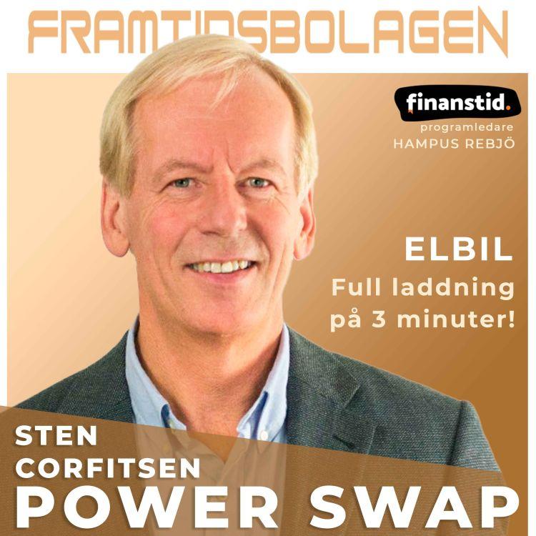 cover art for Framtidens Elbil - Power Swap, Sten Corfitsen