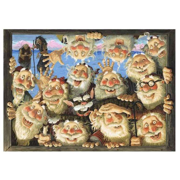 cover art for Suhtnormaali Joulu: Noita-akka, 13 joulupoikaa ja ilkeä joulukissa