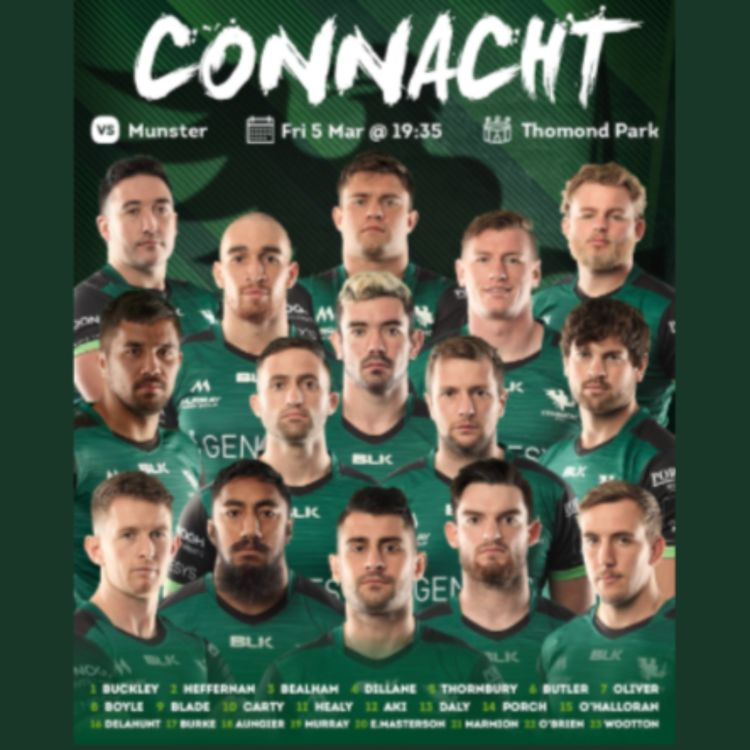 cover art for Pete Wilkins on team to play Munster away