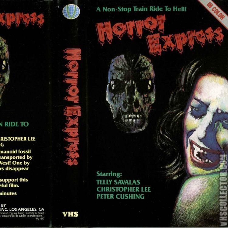 cover art for Episode 231 Horror Express
