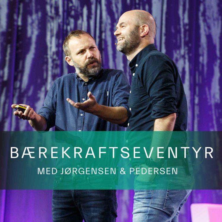 cover art for #JP028: Solenergiklyngen spesial med Benjamin Myklebust Rød