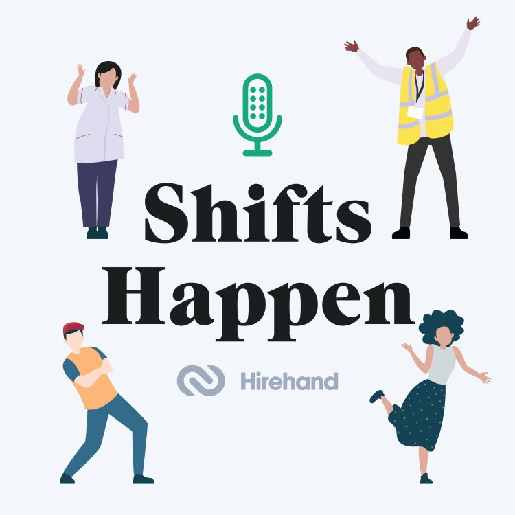 cover art for HireHand presents Shifts Happen