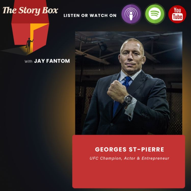 cover art for Georges St-Pierre Unboxing   How To Build Confidence To Achieve Greatness