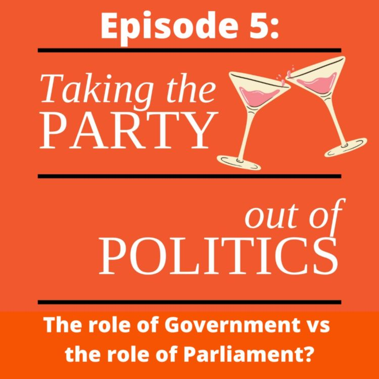 cover art for Taking the Party out of Politics - Episode 5