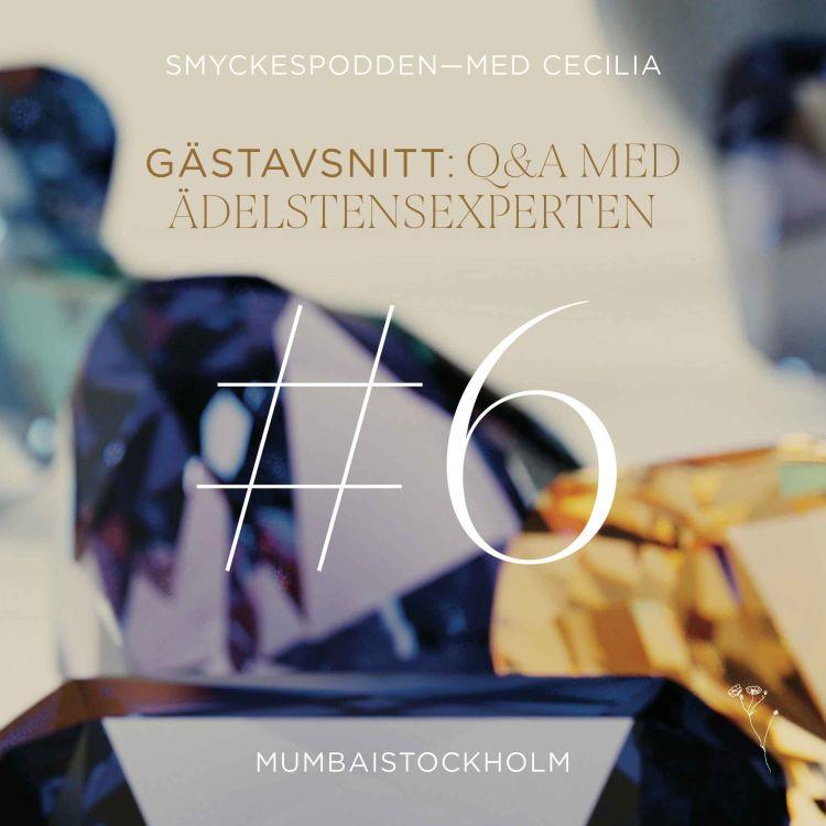 cover art for 6. Q&A med Ädelstensexpert Johannes Orstadius