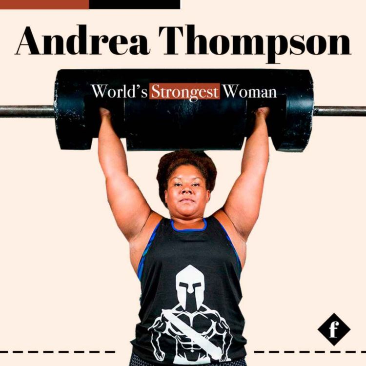 cover art for World's Strongest Woman Andrea Thompson