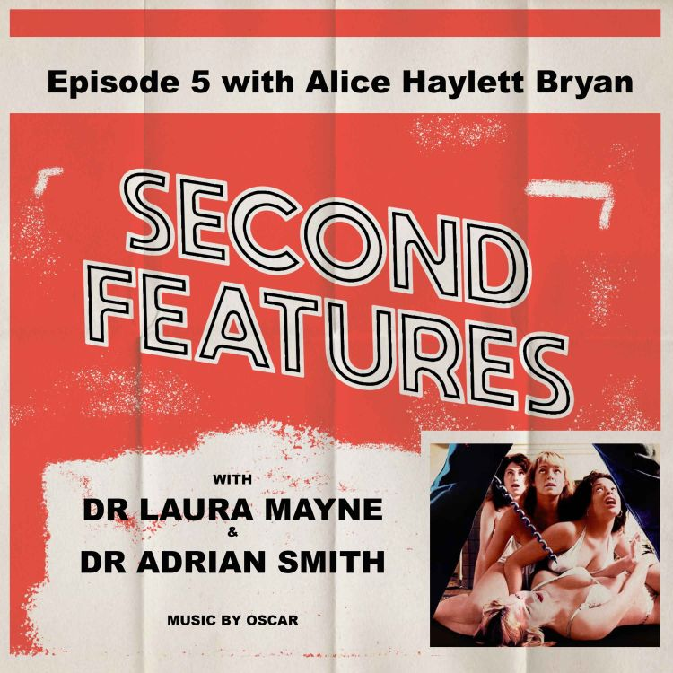 cover art for Slumber Party Massacre (1982) & Slumber Party Massacre 2 (1987) with guest Dr Alice Haylett Bryan