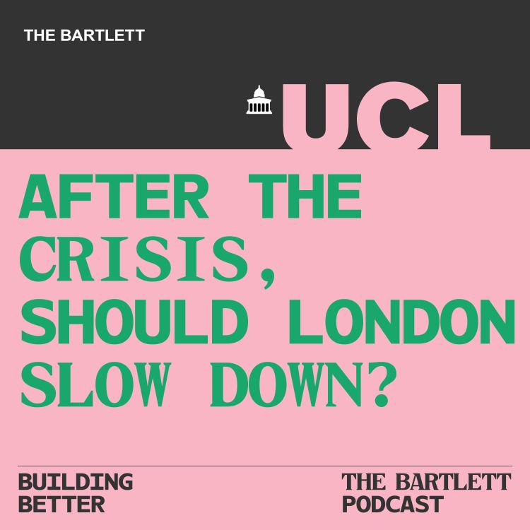 cover art for After the crisis, should London slow down?