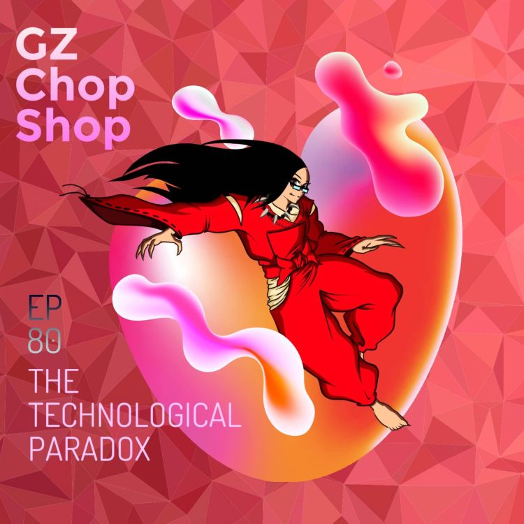 cover art for The technological paradox