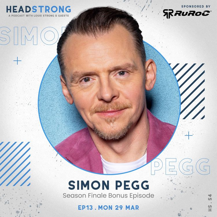 cover art for Simon Pegg