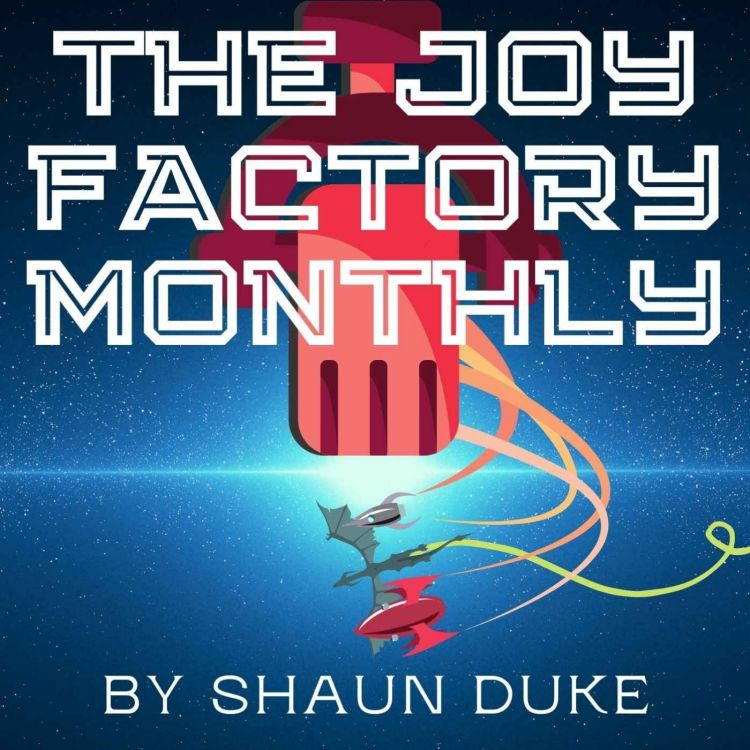 cover art for The Joy Factory Monthly #13: Synthwave Handed Down from the Heavens
