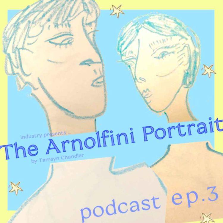 cover art for The Arnolfini Portrait