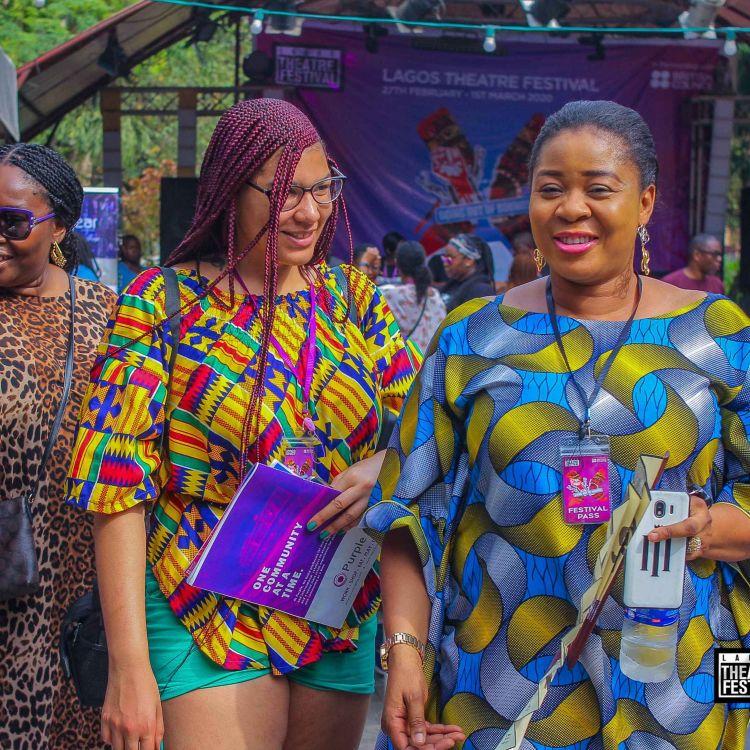 cover art for Lagos Theatre Festival