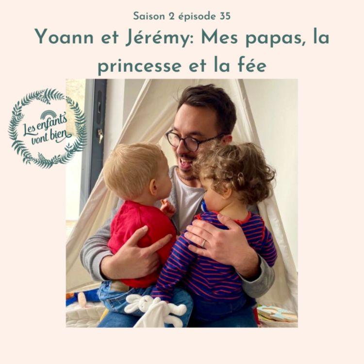 cover art for Yoann & Jérémy: Mes papas, la princesse et la fée