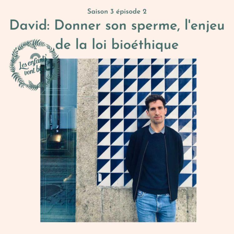 cover art for David: Donner son sperme, l'enjeu majeur de la loi bioéthique