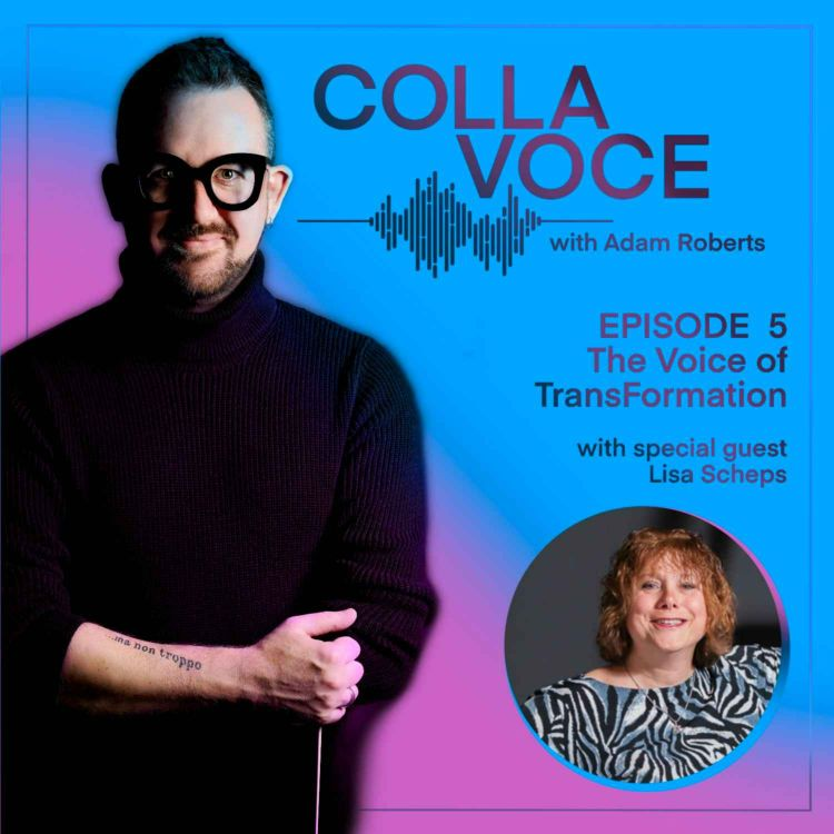 cover art for Episode 5 - Lisa Scheps, The Voice of TransFormation