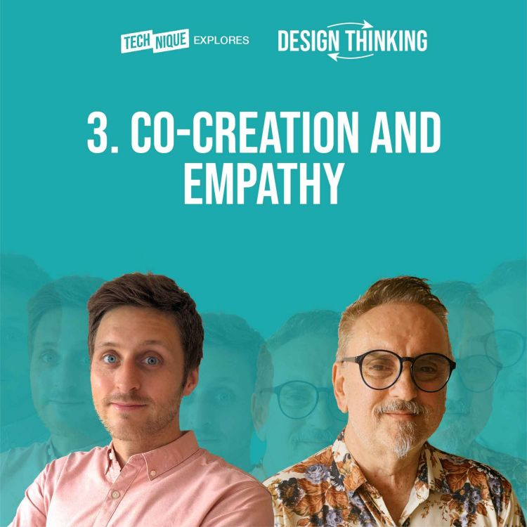cover art for Design Thinking - Co-creation and empathy