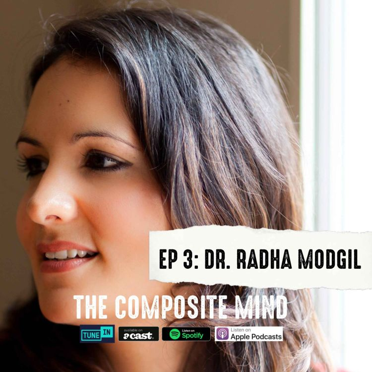 cover art for The Composite Mind: Dr. Radha Modgil