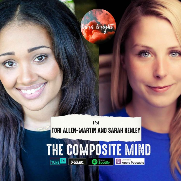 cover art for The Composite Mind: Tori Allen-Martin and Sarah Henley