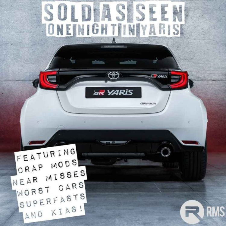 cover art for One Night in Yaris: Crap Mods, Near Misses, The 812 Superfast and Kia
