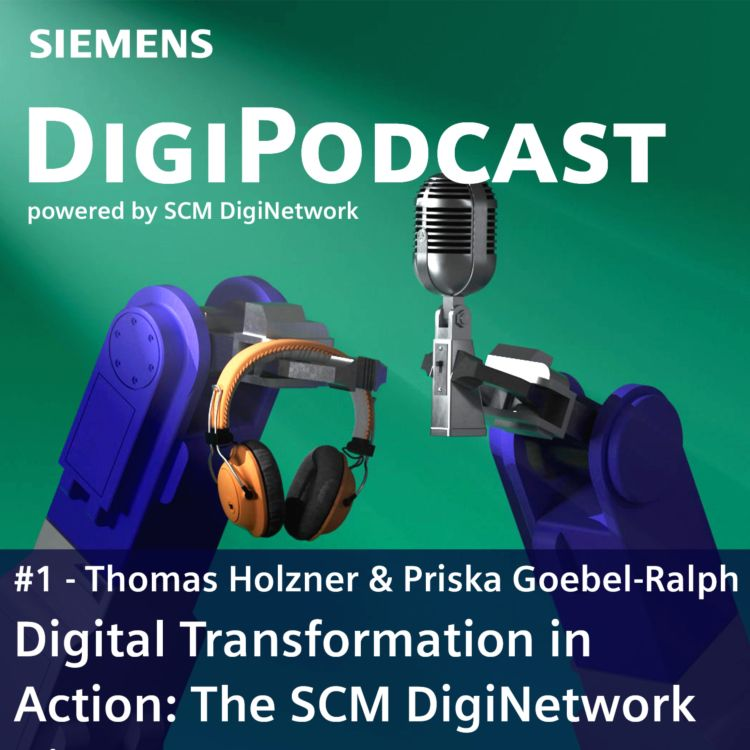 cover art for Digital Transformation in Action: The SCM DigiNetwork