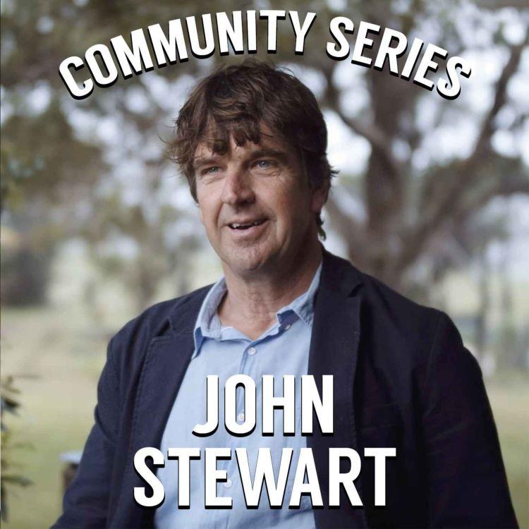 cover art for John Stewart on Living Schools