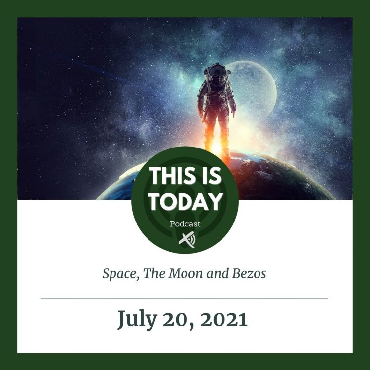 cover art for Space, The Moon and Bezos