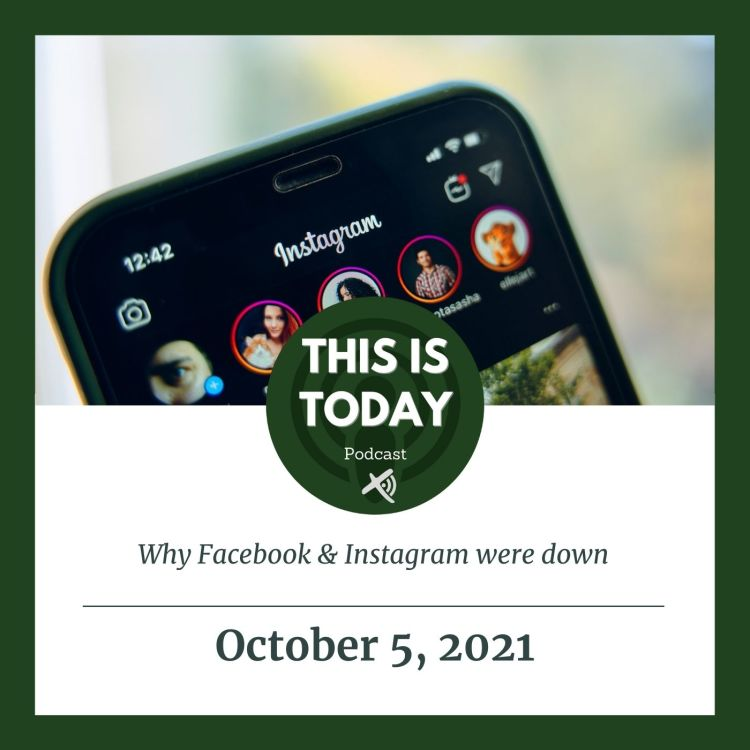 cover art for Why Facebook & Instagram were down