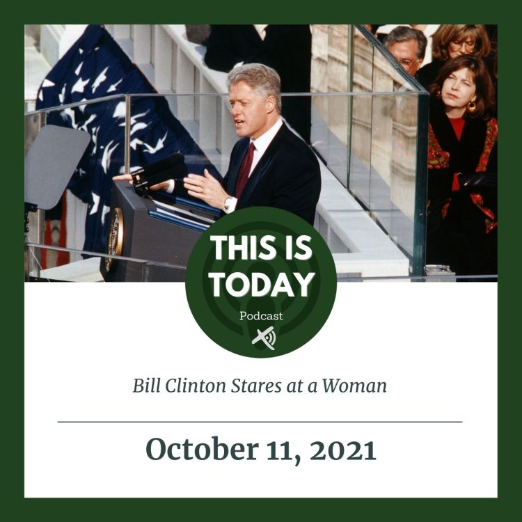 cover art for Bill Clinton Stares at a Woman
