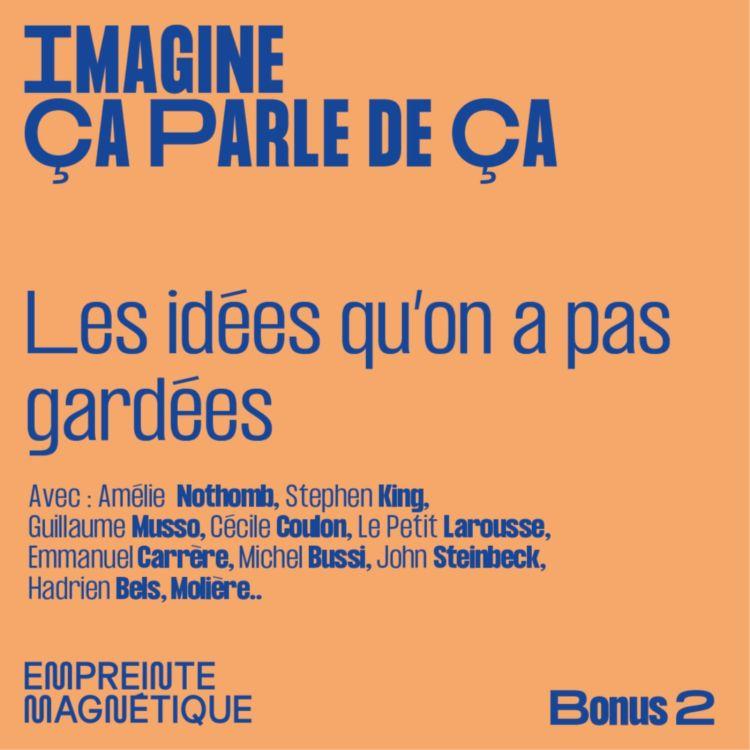 cover art for Les idées qu'on a pas gardées (Bonus 2)