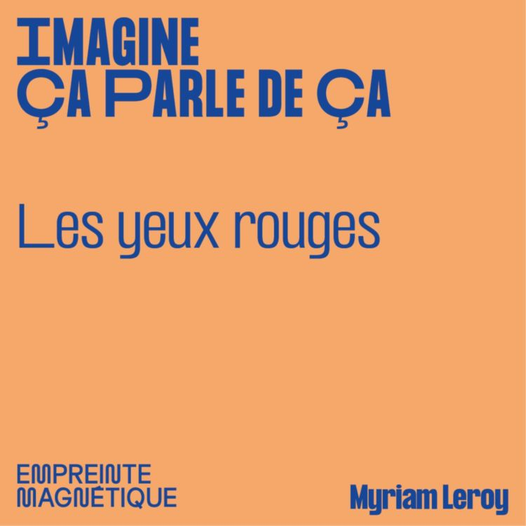 cover art for Les yeux rouges - Myriam Leroy